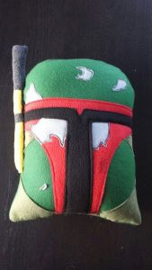 Warm and fuzzy might not describe badass bounty hunter Boba Fett. But it might describe this.