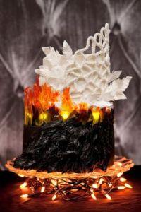 When Miss Havisham's wedding dress catches fire, she dies. When Katniss Everdeen's