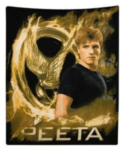 Would go nicely with that Peeta pillow case. But really, why have Peeta merchandise when you can get Katniss?