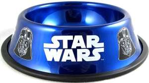 Now with this dog dish, you and Rover can rule the galaxy together. Then again, Rover's probably not going to give a shit on what his dish looks like.