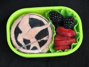 But it won't get you through the arena. Still, you have to admire the design on that Hunger Games sandwich.