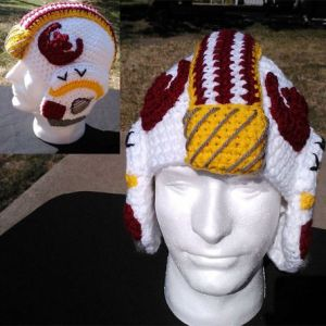 Now this may not protect your head while you're piloting spacecraft. But it will keep you warm during the winter.