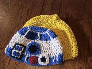 Sorry, but these aren't the droid beanies you're looking for. However, it's too late for me to change the picture so there you go.