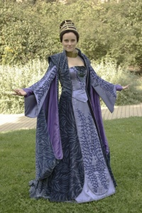 I wonder if any of Padme's wardrobe designers are regular Renaissance Festival attendees. It would explain a lot.