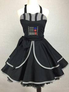 Who knew the fashion of the 1950s and the power of the Dark Side can go so well together? Of course, I tend to find your lack of fashion sense disturbing.