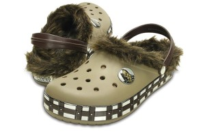 Now R2-D2 crocs are one thing. But these, seriously, I have no idea what the designer was thinking. Besides, the fur just makes these look worse.