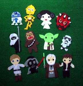 Now they have most of the characters from the original trilogy plus Darth Maul. Nevertheless, these are adorable.