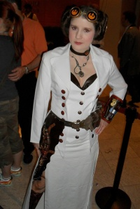 Now you might see a lot of Star Wars steampunk mashups. Still, I think this is one of the best.