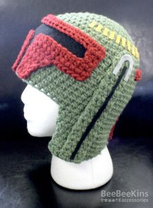 Sure Boba Fett may not be a warm fuzzy soul. But that doesn't mean a warm, fuzzy hat like this can't capture his badass spirit.