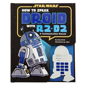Yes, R2-D2 speaks in beeps but is this really necessary? I mean he's not that hard to understand since he communicates with the other characters just fine.