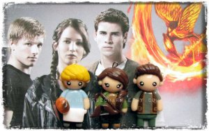 Consists of Katniss, Peeta, and Gale. Nevertheless, they're all so cute.