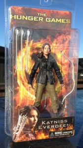 Now I do think Katniss Everdeen is a feminist role model and a great female character in her own right. However, we should understand that while Katniss may look badass with her bow, she's an unwilling pawn in the Capitol's twisted games. Making her an action figure makes her seem like she's in control but she's not.
