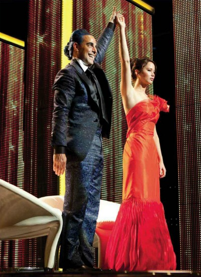 Katniss-interview-the-hunger-games-girl-on-fire-dress
