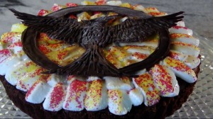 Now the Mockingjay design is quite intricate. And I do like what this person did with the marshmallows.
