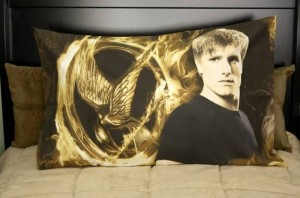 Doesn't mean you might fantasize cuddling with Peeta, doesn't mean that a pillow case in his likeness is a good idea. Just saying.