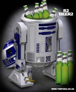 Yes, have R2-D2 keep beer cold for you. Even when he has other things on his mind like saving his friends from Darth Vader.
