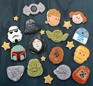 Now these consist of some of your favorite and not so favorite characters. And they even have the Millennium Falcon, Imperial Crusier, and Imperial fighter craft.