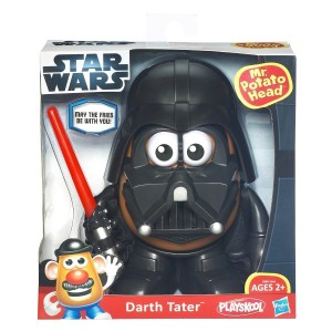 This one is Darth Tater. They also have one of Chewbacca and R2-D2, but they didn't seem as iconic.