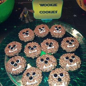 Man, there seems to be a lot of recipes for Wookiee cookies. out there. Wonder why.