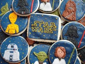 Now these consist of Luke Skywalker, Chewbacca, Darth Vader, C-3PO, and R2-D2. Still, quite creative, are they not?