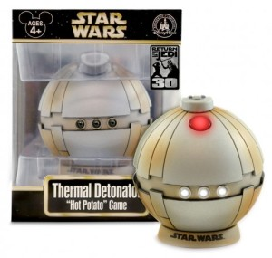 Uh, does anyone at Disney have any idea what a thermal detonator is? Well, it's a heat sensitive grenade. Let that sink in.