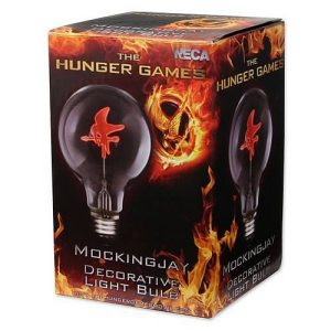 Really? A Hunger Games light bulb? You're shitting me. Seriously, I'm just wondering how anyone could think of this. Said to cost $15 on Amazon by the way.