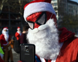 US-ENTERTAINMENT-SANTACON