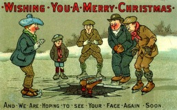 Cute and Funny Vintage Christmas Cards (10)