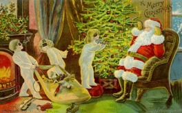 Cute and Funny Vintage Christmas Cards (17)