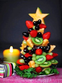 diy fruits christmas tree creative christmas tree 2013 christmas food ideas-f57041