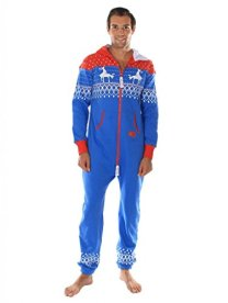 Ugly-Christmas-Sweater-Party-Fair-Isle-Blue-and-Red-Adult-Jumpsuit-Size-S-0-0