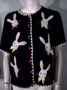 Well, bunny heads anyway. Still, think the carrot buttons are rather appropriate for this one.