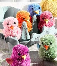 Yes, these are adorable and kids could make them. Come in a variety of colors.