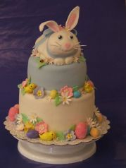 Yes, this is professionally made since it has all kinds of details. But still, you can't help but love the bunny on top.
