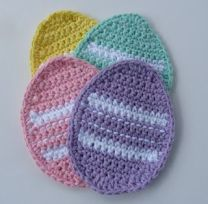 Come in 4 different colors such as yellow, green, pink, and purple. Wonder if these are used as pot holders.