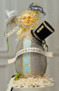 Well, egg Easter bonnet anyway. Still, not sure how someone should wear this thing.