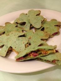 Yes, these are shamrock tortillas as you can see. Still, wonder if it tastes delicious.