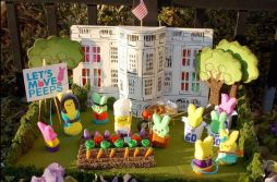 Well, she also started a White House veggie garden, too. Still, this is so adorable.