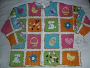 This one seems to have a lot of stuff in bright Easter colors. Also includes a heart and a fortune cookie.