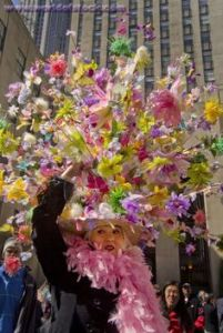 This woman was in my Easter bonnet post last year. Must have bonnets like that every year as far as I'm concerned. Still, couldn't do another post like this without her.