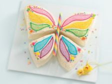 And this cake is courtesy of Betty Crocker. Love the wings on this.