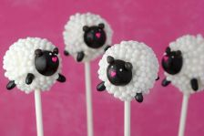 Yes, they may appear a bit puffy than normal sheep. But they're adorable nonetheless.