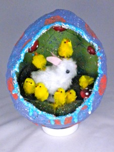 This is perhaps the pinnacle of Easter cuteness. And they're all made from pom poms.