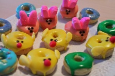 These mostly consist of chicks and bunnies. And are made with some peep attributes. But they're cute.