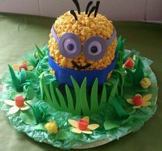 Sure this is a little kid hat. But you have to agree with me. The minions are adorable.