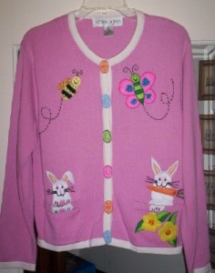 And the top has a butterfly and bee. Nevertheless, love the buttons.