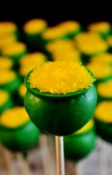 yummy st. patricks day gold of pot cake pops diy edible crafts for kids st patricks day party favors-t12304