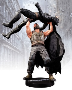 Because nothing brings up fond memories than Bane making Batman more of a physical wreck, sending him to a distant prison, and taking over Gotham City. And yes, I remember this because I've seen the movie twice.