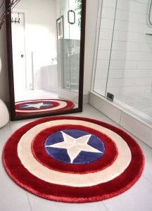 Not sure if I have a bathroom that could fit this. But it sure looks pretty cool.