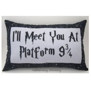 """I'll meet you at Platform 9 3/4,"" that's brilliant. I mean you have to be a big fan to want this."